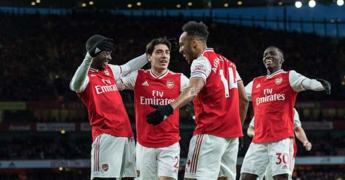 Nicolas Pepe Pierre-Emerick Aubameyang Arsenal