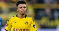 Jadon Sancho Borussia Dortmund Man Utd