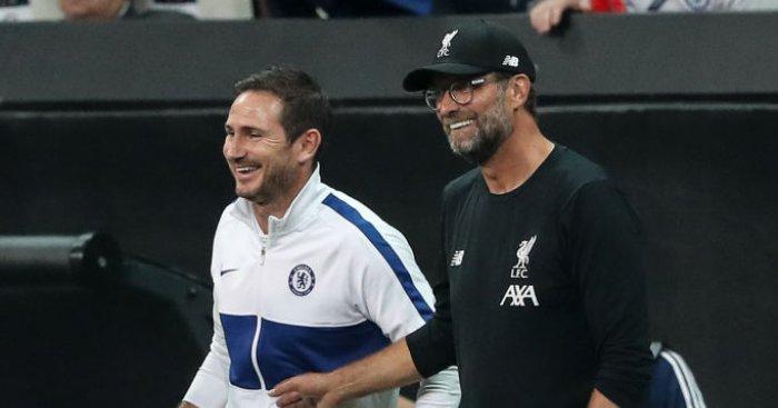 Frank Lampard Jurgen Klopp Chelsea Liverpool