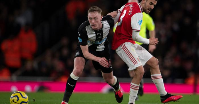 Sean Longstaff Newcastle United