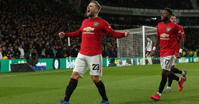Competition not criticism getting best out of Luke Shaw... - Football365