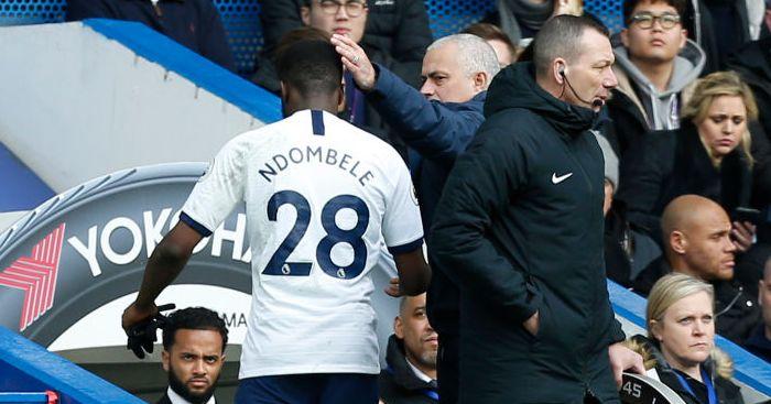 Tanguy Ndombele Jose Mourinho Spurs