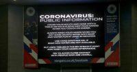 Rangers coronavirus