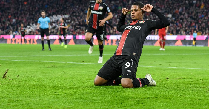 Leon Bailey Everton Bayer Leverkusen