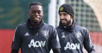 Aaron Wan-Bissaka Bruno Fernandes Manchester United