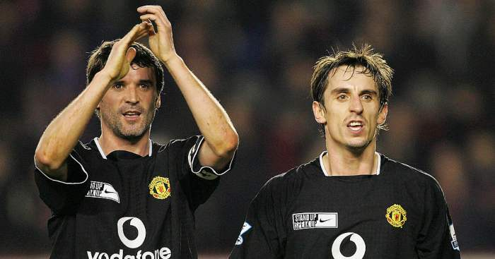 Keane aims cheeky dig at former Man Utd team-mate Neville thumbnail
