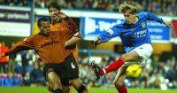 Peter Crouch Joleon Lescott Wolves Portsmouth