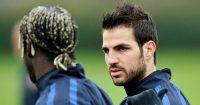 Cesc Fabregas Bacary Sagna Arsenal