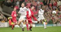 Jamie Carragher Teddy Sheringham Liverpool Manchester United