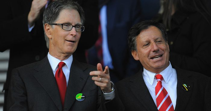 Liverpool owner John W Henry chairman Tom Werner