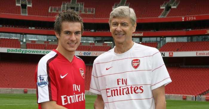 Aaron Ramsey Arsene Wenger Arsenal