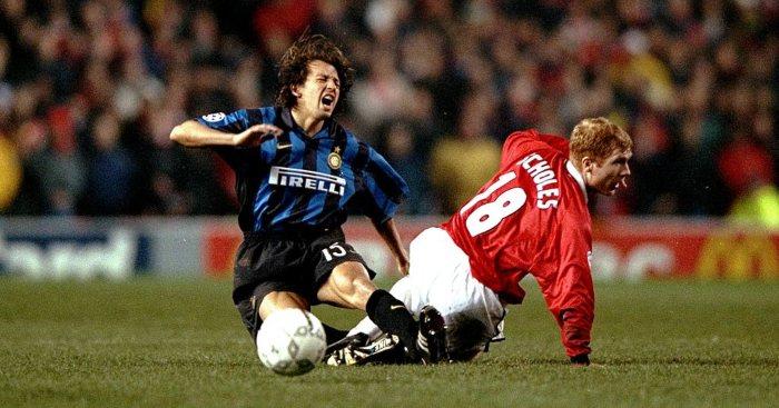 Paul Scholes Man Utd Inter Milan