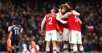 Hector Bellerin David Luiz Arsenal
