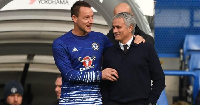 John Terry Jose Mourinho Chelsea