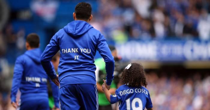Diego Costa John Terry Chelsea