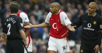 Thierry Henry Gary Neville Man Utd Arsenal