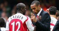 Lauren Thierry Henry Arsenal