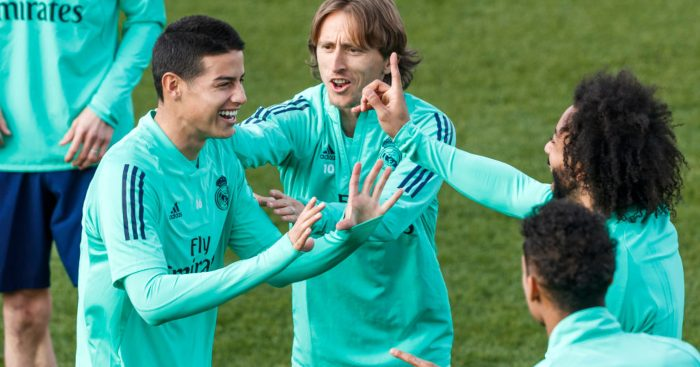 James Rodriguez Real Madrid Man Utd