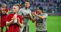 Dejan Lovren Xherdan Shaqiri Liverpool