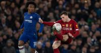 Willian Andy Robertson Chelsea Liverpool