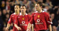 Roy Keane Wayne Rooney Rio Ferdinand Man Utd