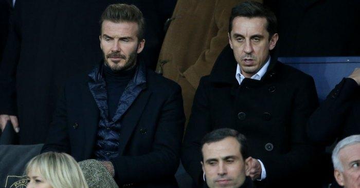 David Beckham Gary Neville Man Utd
