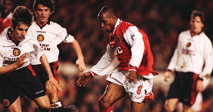 Ian Wright Arsenal Man Utd