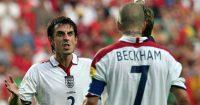 Gary Neville David Beckham England Man Utd
