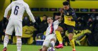 Jadon Sancho Angel Di Maria PSG Dortmund Man Utd