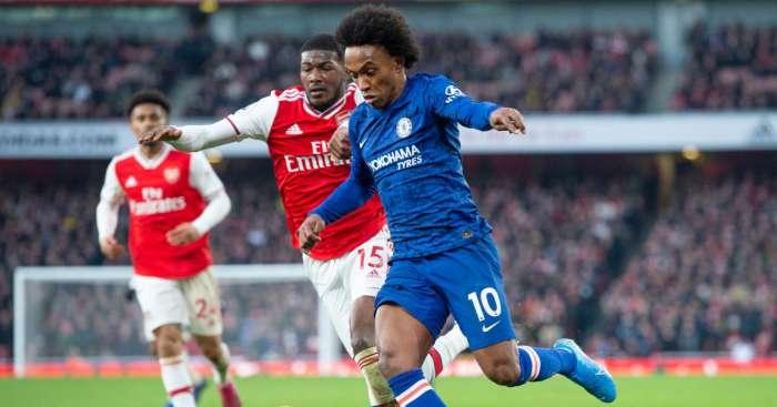 Willian Chelsea Arsenal