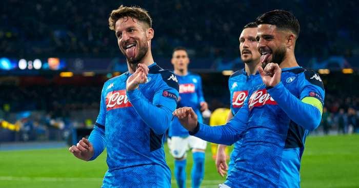 Dries Mertens Napoli Chelsea
