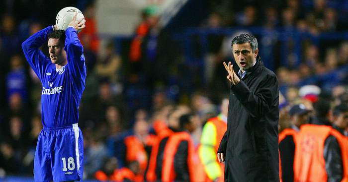 Jose Mourinho Wayne Bridge Chelsea