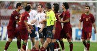 Wayne Rooney Cristiano Ronaldo England Portugal 2006 World Cup Man Utd
