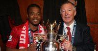 Sir Alex Ferguson Patrice Evra Man Utd