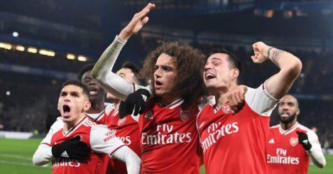 Matteo Guendouzi Granit Xhaka Arsenal