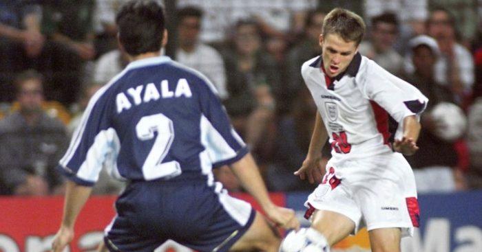 Michael Owen England Argentina Liverpool
