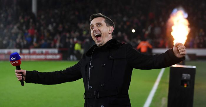 Gary Neville Man Utd