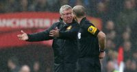 Sir Alex Ferguson referee Man Utd