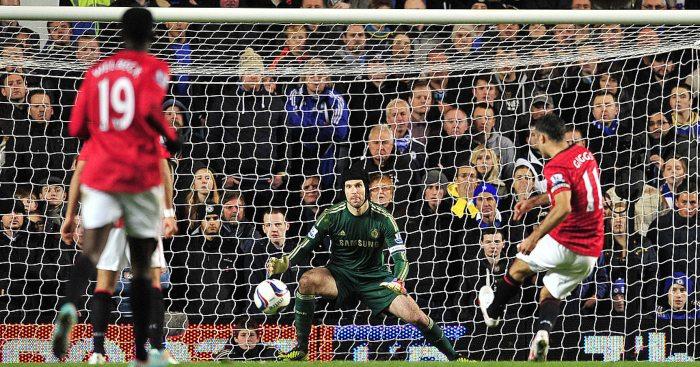 Petr Cech Chelsea Man Utd