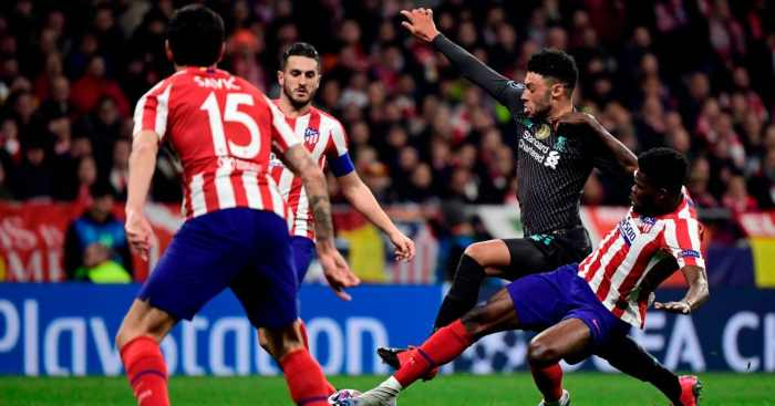 Alex Oxlade-Chamberlain Thomas Partey Atletico Madrid Liverpool