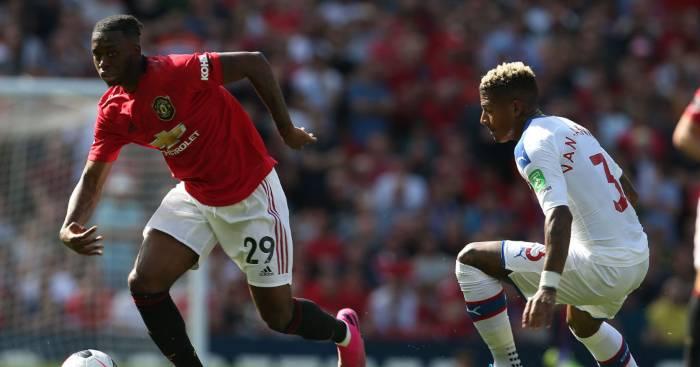 Aaron Wan-Bissaka Patrick van Aanholt Man Utd Crystal Palace