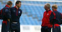 Paul Scholes Steven Gerrard Frank Lampard England Man Utd