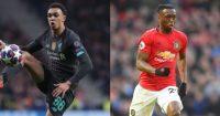 Trent-Alexander Arnold Liverpool Aaron Wan-Bissaka Man Utd
