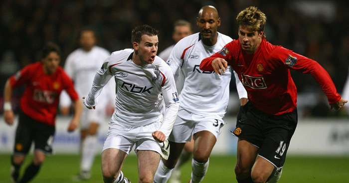 Gerard Pique Man Utd Bolton