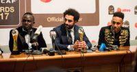 Sadio Mane Mo Salah Pierre-Emerick Aubameyang Liverpool Arsenal