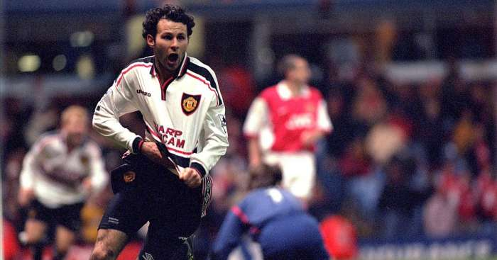 Ryan Giggs Man Utd Arsenal