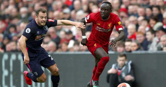 Ryan Fraser Sadio Mane Liverpool Bournemouth Spurs