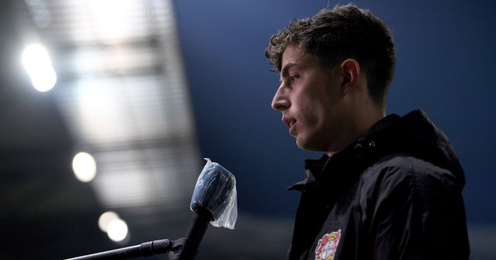 Kai Havertz Bayer Leverkusen Liverpool