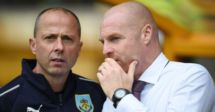 Ian Woan Sean Dyche Burnley