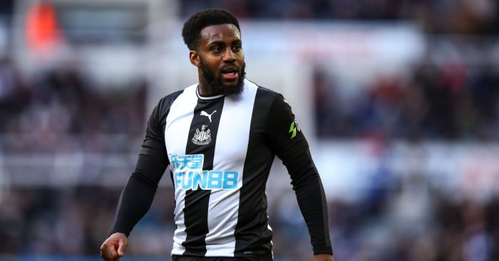 Danny Rose Newcastle United